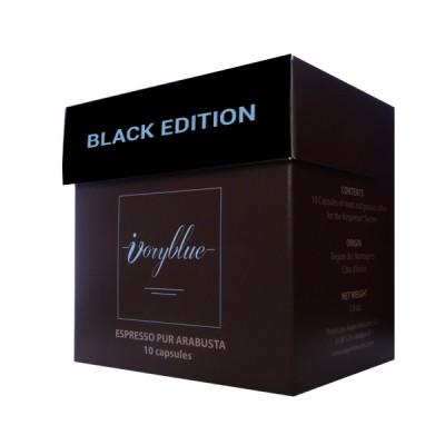 Ivoryblue Caffé - Pur Arabusta Black Edition