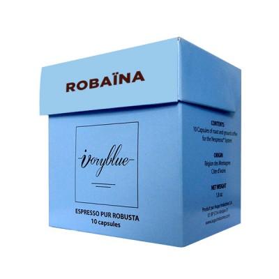 Ivoryblue Caffé - Pur Robusta Man Region - Robaïna